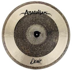 "Crash Anatolian Deniz 18"" Raw Natural Hybrid Handmade Turkish"