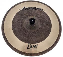 "Crash Anatolian Deniz Extra Thin 18"" Raw Natural Hybrid Handmade Turkish"