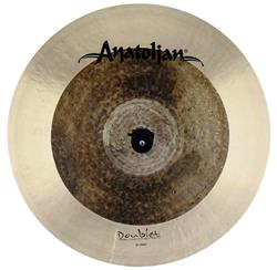 "Crash Anatolian Doublet 18"" Omni Raw Natural Handmade Turkish"