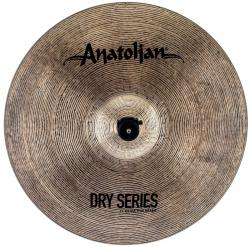 "Crash Anatolian Dry Series Extra Thin 17"" Dark Slot Handmade Turkish"
