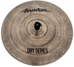 "Crash Anatolian Dry Series Extra Thin 18"" Dark Slot Handmade Turkish"