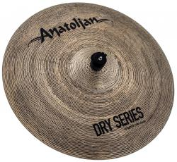 "Crash Anatolian Dry Series Extra Thin 19"" Dark Slot Handmade Turkish"