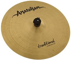 "Crash Anatolian Traditional Thin 15"" Handmade Turkish"