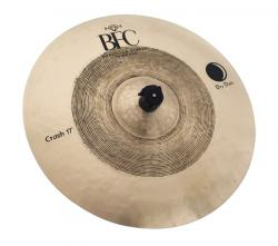 "Crash BFC Brazilian Finest Cymbals Dry Dark 17"" DDCR17 em Bronze B20"