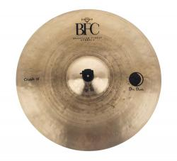 "Crash BFC Brazilian Finest Cymbals Dry Dark 18"" DDCR18 em Bronze B20"