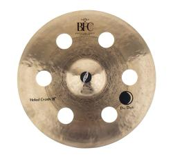 "Crash BFC Brazilian Finest Cymbals Dry Dark Holed 18"" DDHCR18 em Bronze B20"