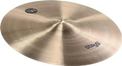 "Crash Stagg SH Traditional Medium 18"" em Bronze B20"