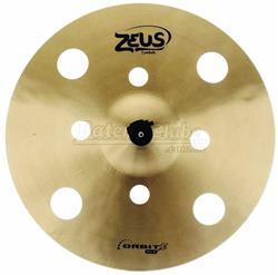 """Crash Zeus Orbit X 17"""" ZFX Series em Bronze B20 Prato de Efeito Estilo O-Zone ZOXC17"""