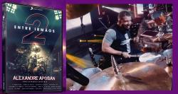 DVD Alexandre Aposan Entre Irmãos 2 com Show de Grandes Estrelas Gospel