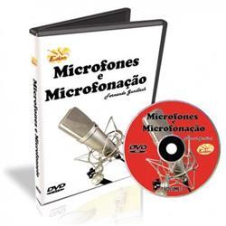 DVD Curso de Microfones e Microfonação Volume 3 como Microfonar Percussão, Violão, Baixo, Voz