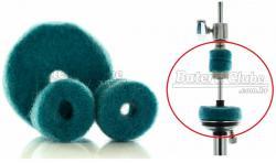 Feltros para Presilha de Máquina de Chimbal Gorilla Azul FPHHA Kit para Presilha e Base da Máquina
