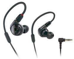 Fone de Ouvido Audio-Technica In Ear ATH-E40 Impedância 12 Ohms com Cabo Destacável e Bag