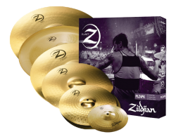 "Kit de Pratos Zildjian New Planet Z Super Pack com China 18"" e Splash 10"" PLZSP Kit com 6 Pratos"