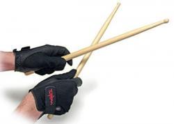 Luvas Protetoras Zildjian Drummers Gloves Extra Grande P0824 evita calos e baqueta escorregadia