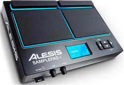 Pad de Efeitos Alesis SamplePad 4 Multi-Pad de Samples e Efeitos Eletrônicos