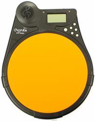 Pad de Estudo Digital e Efeitos Cherub DP-950 Orange Metrônomo e Sons com Ritmos e Tutor de Toques