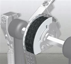 Pearl CAMT-WT White Polia para Pedal Eliminator Red Line em Curva Curta Alongada
