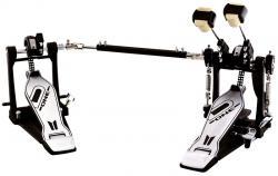 Pedal Duplo D-One DP20 Double Chain Drive com Corrente Dupla e Batedor 4 Faces
