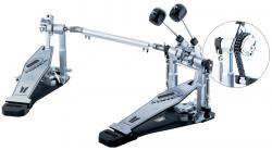 Pedal Duplo D-One DP2000 com Sistema Direct Drive e Double Chain Corrente Dupla (2 em 1)