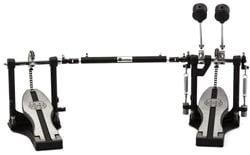 Pedal Duplo Mapex P400TW Single Chain Drive com Batedores Duo-Tone Beater