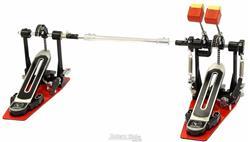 Pedal Duplo Bauer by Torelli BPD55 com Batedor de 2 Faces com Memória e Extensor de Sapata