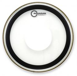 "Pele Aquarian Performance II Clear 12"" Filme Duplo com Power Dot (Similar Powerstroke 77) PFPD12"