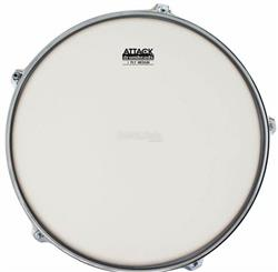 "Pele Attack Drumheads 1-Ply Medium Coated Frost Bite 10"" Filme Único Porosa DHAFB10C"