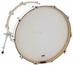 "Pele Attack Drumheads 1-Ply Medium Coated Bass 24"" Filme Único Porosa de Bumbo DHA24C"