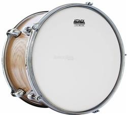 "Pele Attack Drumheads 2-Ply Thin Skin Coated 18"" Filme Duplo Porosa Mais Fina DHTS2-18C"