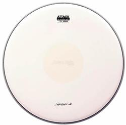 "Pele Attack Drumheads Signature Bobby Rondinelli 14"" BR14C Medium Coated Dot com Bola Central"