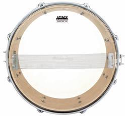 "Pele Attack Drumheads Snare Side Hazy Thin 08"" SS8T Resposta de Caixa"