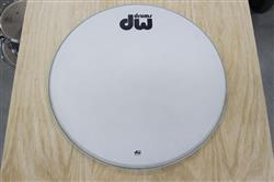 "Pele de Bumbo DW Remo Coated Bass Drum 24"" Resposta Saldão"