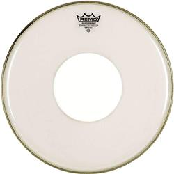 "Pele Remo CS Clear Controlled Sound 15"" com Bola Central White Dot"