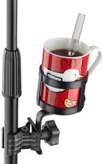 Porta Bebidas Stagg SCL-CUH com Clamp pra apoiar copos, squeeze, latas, garrafas na estante