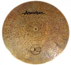 "Ride Anatolian Jazz Collection Chocolate Move Flat 21"" Handmade Turkish Sem Cúpula (Saldão)"