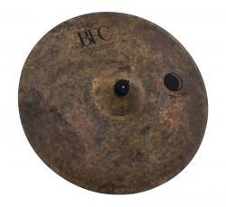 "Ride BFC Brazilian Finest Cymbals Dry Dark 22"" DDRD22 em Bronze B20"