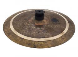 """Stax BFC Brazilian Finest Cymbals Dry Dark Low 10""""/12"""" DDLSX1012 Prato de Efeito em Bronze B20"""