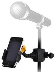 Suporte para Smartphones Hercules DG200B para fixar em estantes de bateria e microfone (8680)