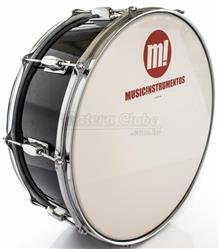 "Zabumba PHX Music Instrumentos Basswood Black 519R-DP-BK 18x7"""