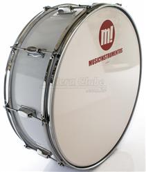 "Zabumba PHX Music Instrumentos Basswood White 520R-DP-BR 20x7"""