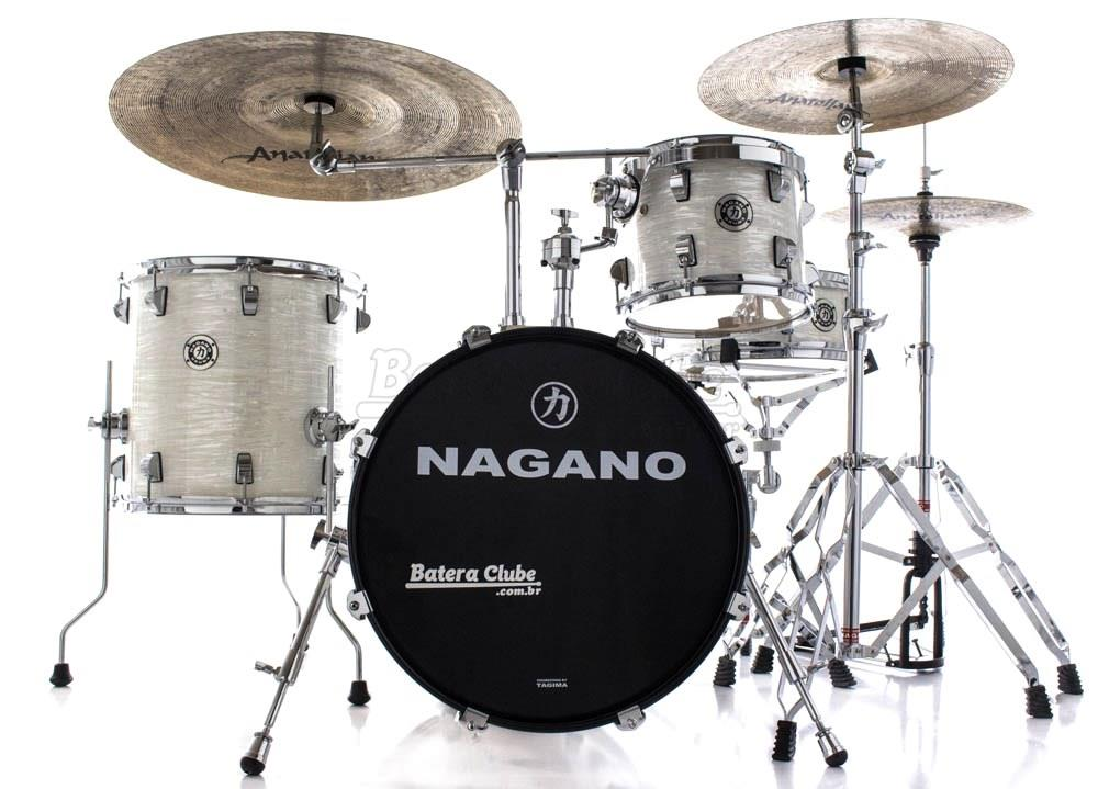 Bateria Nagano Concert Gig Brooklyn White