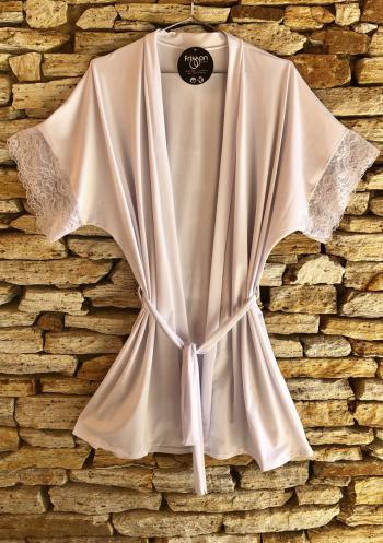 Robe Branco com Renda
