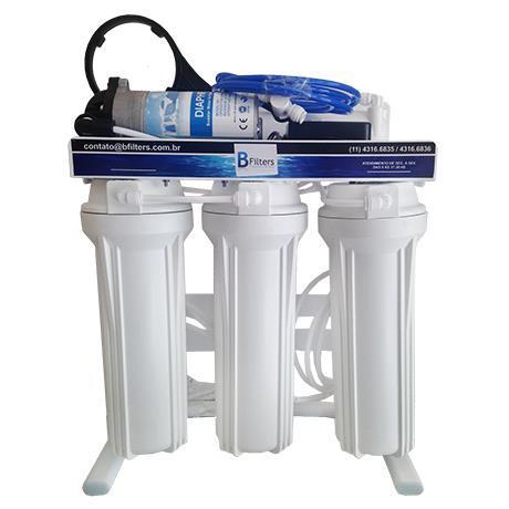 Osmose Reversa ORBC-10A 110V 4 Etapas - Automático - 10 litros/hora