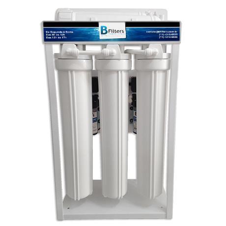Osmose Reversa ORBC-50UVC 220V 6 Etapas Automático - 50 litros/hora