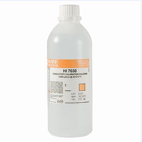 Solução De Condutividade 12880 uS/cm HI7030 500 ml Hanna