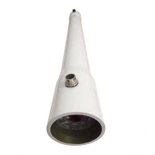 """Vaso Para Osmose Reversa De 8"""" x 80"""" Em FRP 300 PSI para 2 membranas"""