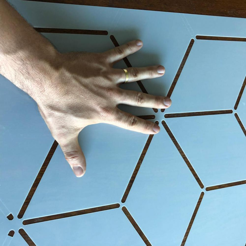 Stencil Chic Happens Estencil Para Pintura