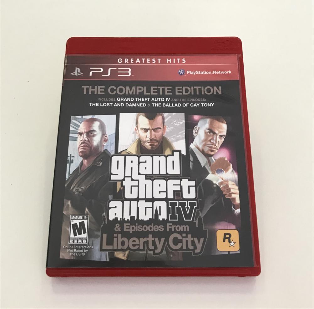 GTA IV & Episodes From Liberty City - PS3 - Usado : PS3
