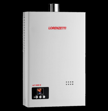 Aquecedor de Água à Gás  LORENZETTI LZ 1600 16 Litros/min
