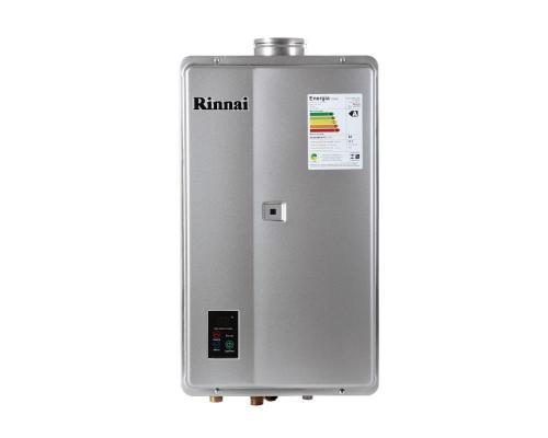 Aquecedor de Água à Gás RINNAI REU2402FEH Prata 32,5Litros/min -ENTRE EM CONTATO P/OFERTAS ESPECIAIS